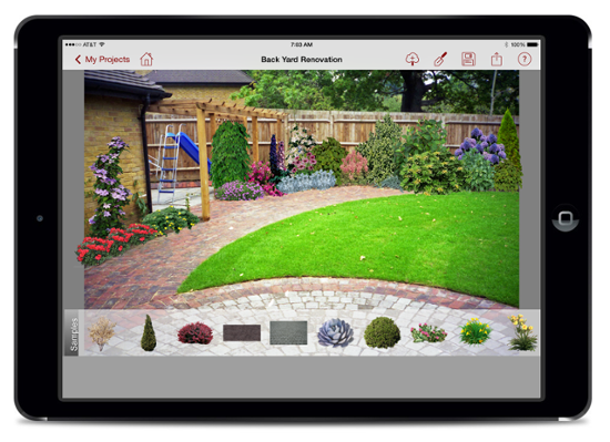Pro Landscape Home has highest Apple App Store rating of all of the landscape design apps