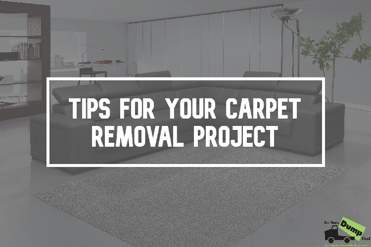 Tips for your Carpet Removal Project